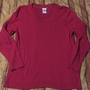 Cable knit sweater 2xl
